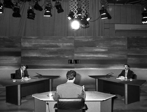 El primer debate profesional en televisión